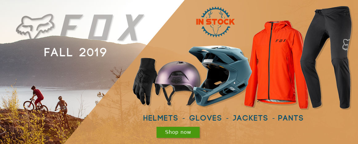 New 2019 Fox Fall collection in stock on Purebike