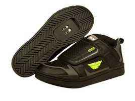 Fly racing Transfer Shoes Black / Yellow 2016