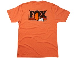 Fox Racing Shox Heritage Crew Neck Tee Orange 2016