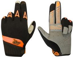 Racer Rock Gloves Black and Orange 2016
