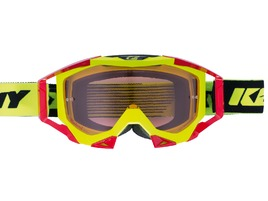 Kenny Titanium Goggle Neon Yellow / Red 2017