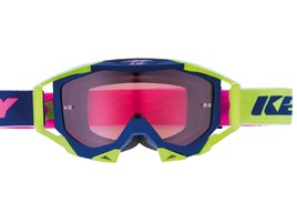 Kenny Titanium Goggle Navy / Lime / Pink 2018