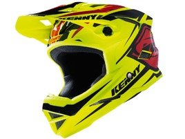Kenny Scrub Helmet Neon Yellow / Black / Red 2017