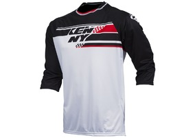 Kenny Indy Jersey Black, White and Red 2017