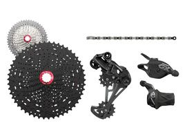 Sram GX Eagle 1X12 speed with Sunrace MZ90 cassette 2018
