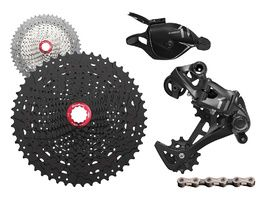 Shimano XT M8000 groupset with Sunrace MX80 cassette - PureBike