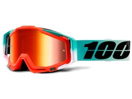 100% Racecraft Goggle Cubica - Mirror red lens 2018