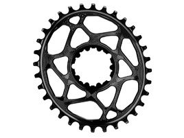 Absolute Black Oval Narrow Wide Direct Mount Sram GXP Chainring Black 2018