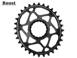 Absolute Black Oval Narrow Wide Direct Mount Race Face Chainring Boost Black 2018