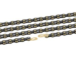 Connex by Wippermann 10SB 10 speed chain Black / Gold 2018