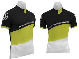 Mondraker XC Jersey Black and Lime