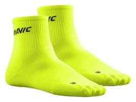 Mavic Cosmic Mid Socks Neon Yellow 2018