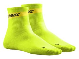 Mavic Cosmic Mid Socks Lime Green 2018