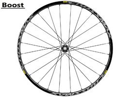 "Mavic Crossmax Elite front wheel 27.5"" Boost Black 2018"