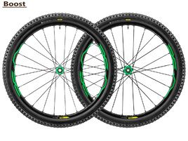 Mavic XA Elite WTS Wheelset Green 27,5'' Boost