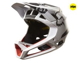 Fox Proframe Moth Helmet White / Red 2017
