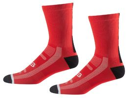 Fox Logo Trail 8'' socks Red 2018