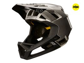 Fox Proframe helmet Moth Black / Grey 2018