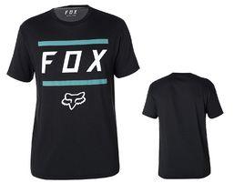 Fox Listless Airline Short Sleeve Tee Shirt - Black and Blue 2018