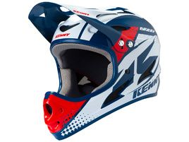 Kenny Down Hill Helmet Navy Red 2019