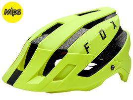Fox Flux MIPS Helmet Yellow 2018