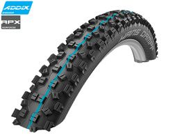 "Schwalbe Hans Dampf Tubeless Easy Apex E25 29"" 2.60 - Addix Speedgrip 2019"