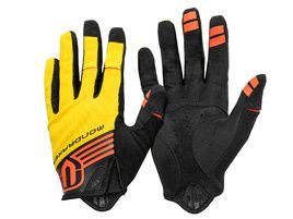 Mondraker Gloves by Giro - Yellow and Orange 2018