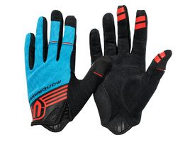 Mondraker Gloves by Giro - Blue and Red