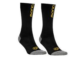 Mondraker Basics High Socks Black and Yellow