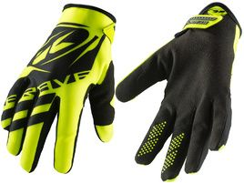 Kenny Brave Gloves Neon Yellow 2019