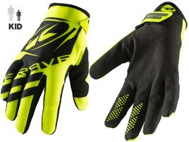 Kenny Brave Gloves Youth Neon Yellow 2019