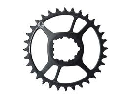 Sram Steel X-Sync 2 Direct Mount Chainring 12s 6 mm Black