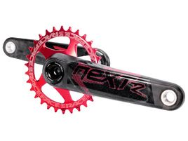 Race Face Next R Crankset Red 2019