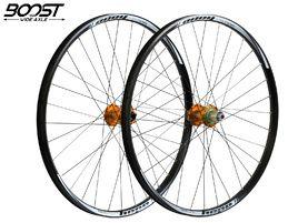"Hope Tech Enduro Pro 4 Wheelset 27.5"" Boost Orange 2019"