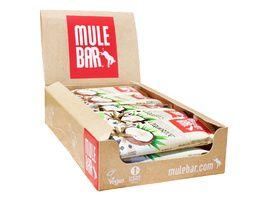 Mulebar Barre énergétique Reglisse, Graine de fenouil, Coco - Boite (15x40 gr)