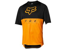 Fox Defend Moth Short Sleeve Jersey Atomic Orange 2019