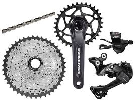 Shimano XT M8000 1x11s Groupset with RaceFace Aeffect Cinch Crank Black 2019