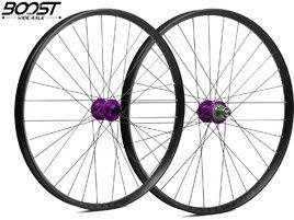 """Hope Fortus 35 Purple 27.5"""" Boost Wheelset 2019"""