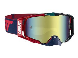 Leatt Velocity 6.5 Iriz Goggle - Ink/Red - Bronz Lense 2019