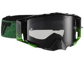 Leatt Velocity 6.5 Goggle - Black/Green - Smoke Lense 2021