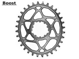 Absolute Black Oval Direct Mount Chainring for Sram Boost Titanium 2020