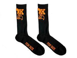 Fox Racing Shox Orange and Black Socks 2020