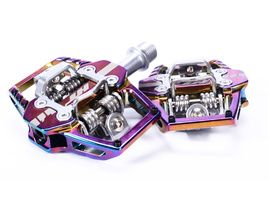 HT Components T1 Clipless Pedals Oil Slick 2020