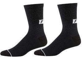 Fox Trail 8'' Socks Black and White 2020
