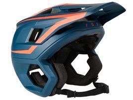 Fox Dropframe Pro Helmet Blue and Red 2021