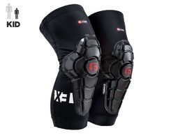 G-Form Pro X3 Youth Knee Guards Black 2021
