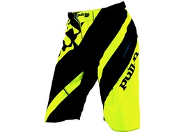 Pull-In DH Stripe Short Neon Yellow 2016