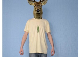 Pure Gear Tee-shirt Cerf'Your'Style Cream