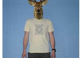 Pure Gear Tee-shirt Viva la Purevolution Cream