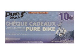 Purebike Gift voucher 10 €
